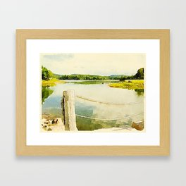 Somes Sound, Maine Framed Art Print