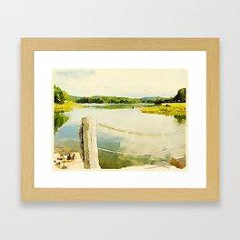 Somes Sound, Maine Framed Art Print