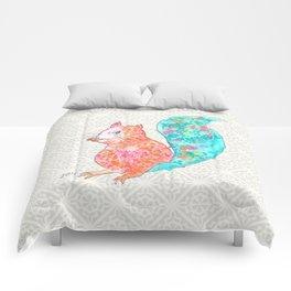 Nom Nom Squirrel Comforters