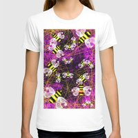 bees T-shirts featuring Bees by Marven RELOADED