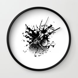 Bird Gard Wall Clock
