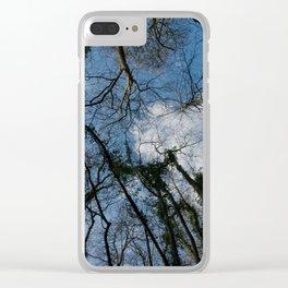 Loamhole Dingle Treetops Clear iPhone Case
