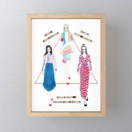 Fashionary 10 Framed Mini Art Print