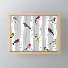 birchwood Framed Mini Art Print