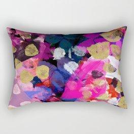 April Abstract Rectangular Pillow