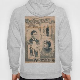 Houdini, Metamorphosis, vintage poster Hoody