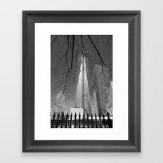 Never Forget Framed Art Print