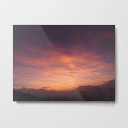 Oaxacan sunrise Metal Print