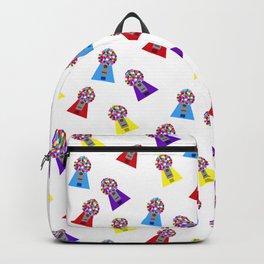 Gumball Machines,small white Backpack