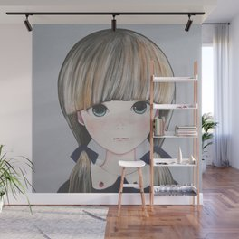 「Strawberry Things 」 Wall Mural