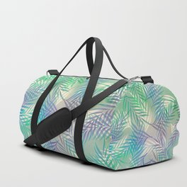 Palm Leaf Pattern Duffle Bag