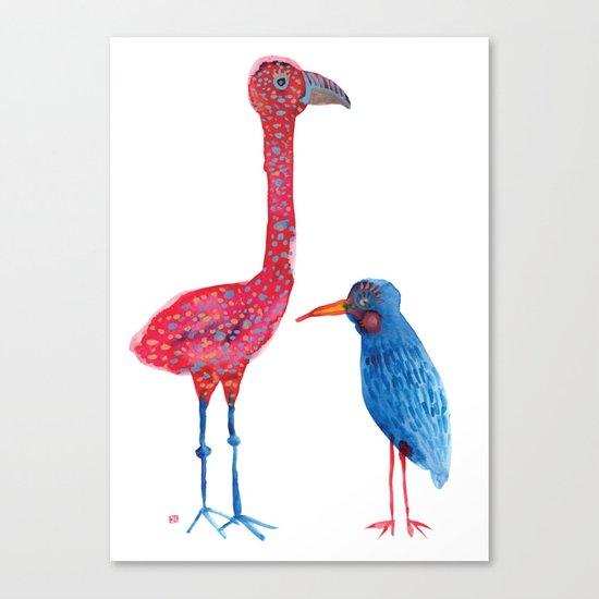 Birdie Brothers Canvas Print