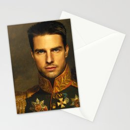 Tom Cruise - replaceface Stationery Cards