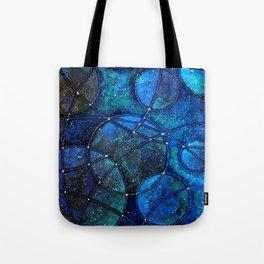 Looking Up (at night) Tote Bag