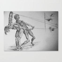 Automa VI, VII Canvas Print