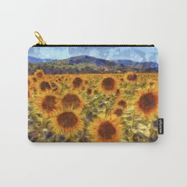 Sunflowers Vincent van Gogh Carry-All Pouch