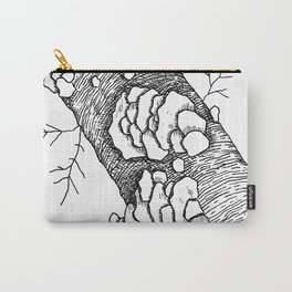 Leaning White Birch Carry-All Pouch