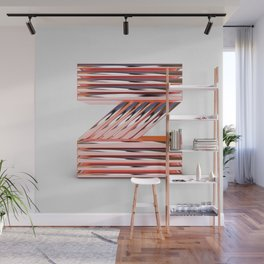 The Letter Z Wall Mural