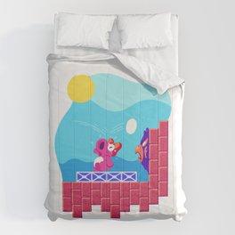 Teeny Tiny Worlds - Super Mario Bros. 2: Birdo Comforters
