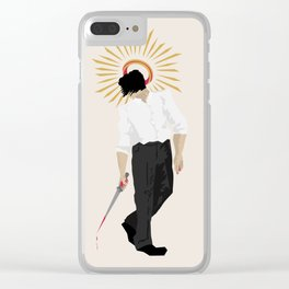 Tainted Saint Clear iPhone Case