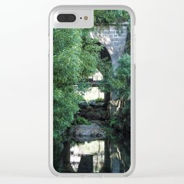Old Stone Brigde Clear iPhone Case