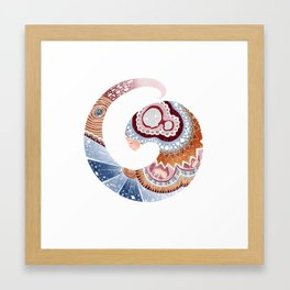 Spiral Framed Art Print