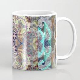 Ruby in the Mists of Time Boho Soul Glow Mandala Coffee Mug