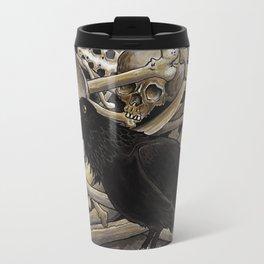 Bird and Bones Watercolour Travel Mug