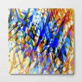 Abstract design - pattern - Metal Print