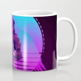 Synthwave Space #10: Astronaut Coffee Mug
