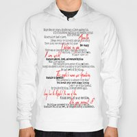 grantaire Hoodies featuring Grantaire by Jessica Latham