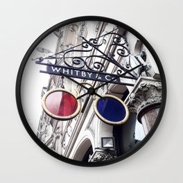 Rose Coloured Glasses Wall Clock