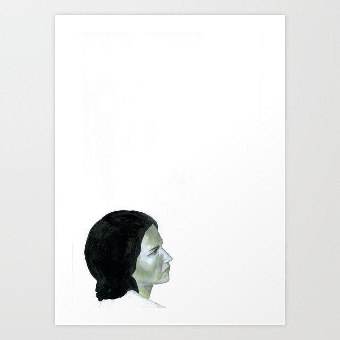 Au travail 16 Art Print