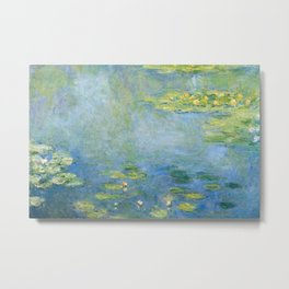 Water Lilies 1906 by Claude Monet Metal Print