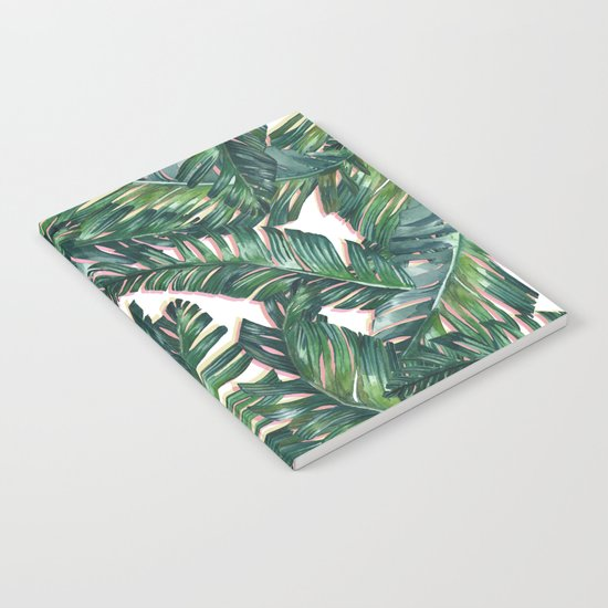 banana leaf 3 Notebook