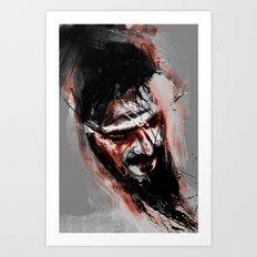 against Art Print