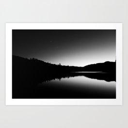 Dark Sunrise Art Print