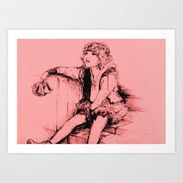 Just An Itch Art Print