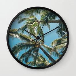 Kuau Palms Paia Maui Hawaii Wall Clock