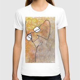 The artist at work T-shirt