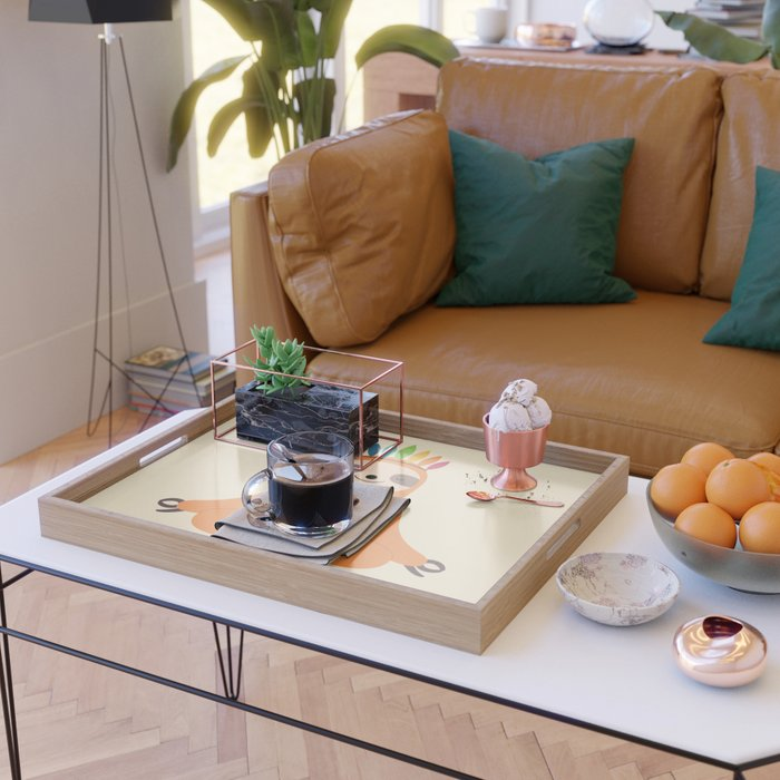 Master Of Calm Serving Tray