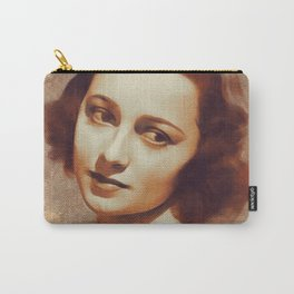 Olivia De Haviland, Hollywood Legend Carry-All Pouch