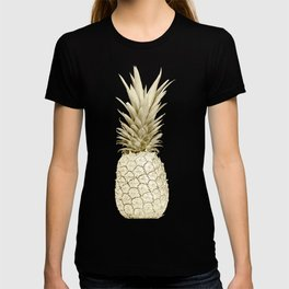 Golden Pineapple Marble T-shirt