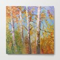 Autumn birches by olhadarchuk