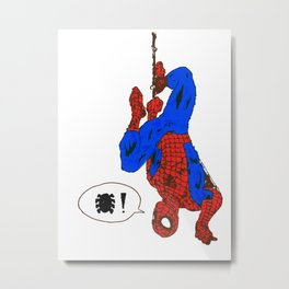 Spidey Love Metal Print