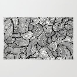 wave dream Rug