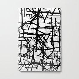 Abstract1on Metal Print