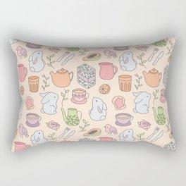 Breakfast with the Bunnies Rectangular Pillow