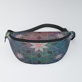 Water Lily Pattern Fanny Pack