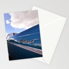 Wildcat - Classic American Blue Car Stationery Cards